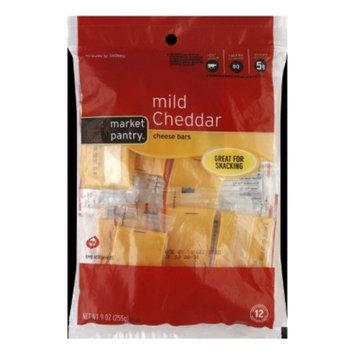 Market Pantry Mild Cheddar Cheese Bars - 9 oz. 12 Individually