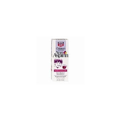 Rite Aid Brand Rite Aid Acetaminophen, Children's, Non Aspirin, Oral Suspension Liquid, Grape Flavor, 4 oz