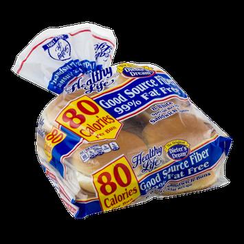 Healthy Life White Sandwich Buns - 8 CT