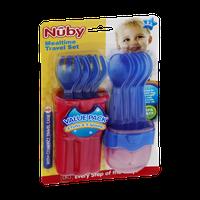 Nuby Mealtime Travel Set Value Pack - 3m+