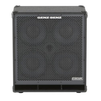 Genz Benz Focus Series FCS-410T 4x10 Bass Speaker Cabinet