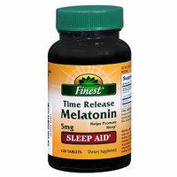 Finest Melatonin 5mg Time Release Tablets