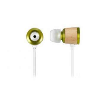 Zenex EP5497 Wooden Chamber Headphones Green - SIERRA ACCESSORIES