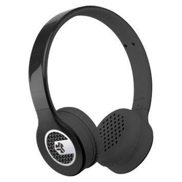 JLab Supra On-Ear Headphones - Black (SUPRABLKBO)