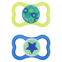 Mam Air Silicone Pacifier (2 Pack)