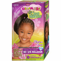 African Pride Dream Kids Olive Miracle Children's Coarse No-Lye Relaxer