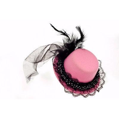 Sunnywood, Inc. Sunnywood Pink Persian Mini Top Hat - SUNNYWOOD INC.