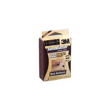 3M 3m 150 Grit SandBlaster Bare Surface Sanding Sponge Block 20908-150