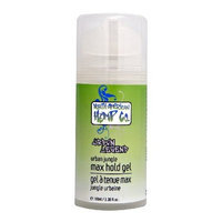 North American Hemp Co. Urban Jungle Max hold gel, 3.38 Ounce Bottles (Pack of 2)