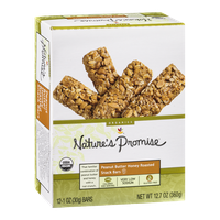 Nature's Promise Peanut Butter Honey Roasted Snack Bars - 12 CT