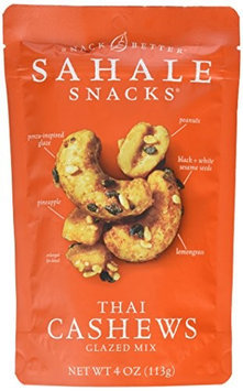 Sahale Snacks THAI CASHEWS, (Pack of 6)