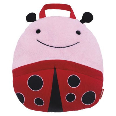 Zoo Toddler Travel Blanket with Pillow - Ladybug by Skip Hop