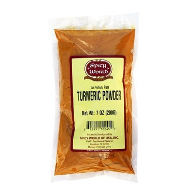 Spicy World Turmeric Powder (Curcumin) 7oz