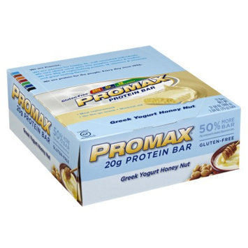 Promax Nutrition 20g Protein Bar, Greek Yogurt Honey Nut, 12 ea