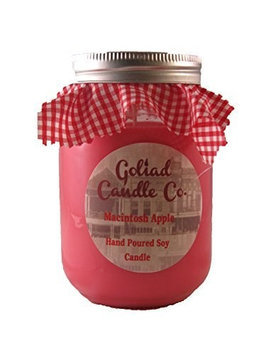 Goliad Candle Co. Macintosh Apple 16oz Hand Poured Soy Candle