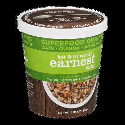 Earnest Eats Hot & Fit Cereal Asia Blend