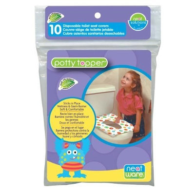 Neat Solutions Neat-Ware Potty Topper, 10-Count