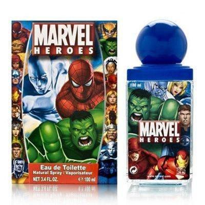 Marvel Heroes By Marvel Heroes For Men Eau De Toilette Spray, 3.4-Ounce / 100 L