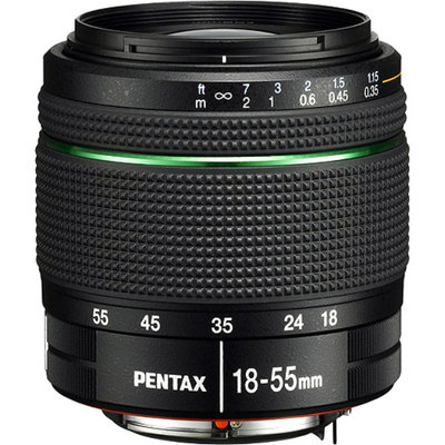 Pentax DA 18-55mm Zoom Lens - Black (21880)