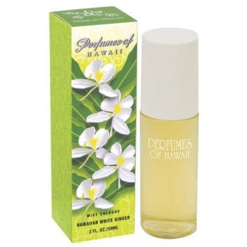 Hawaiian White Ginger Mist Cologne - Perfumes of Hawaii - 2 Fl. Oz.