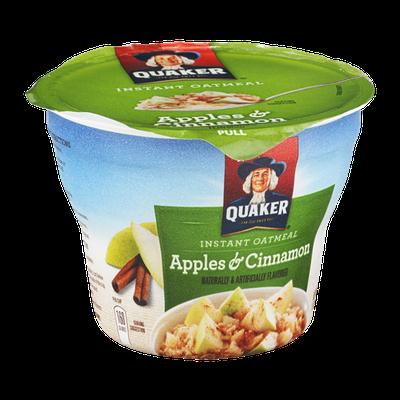 Quaker® Instant Oatmeal Apples & Cinnamon