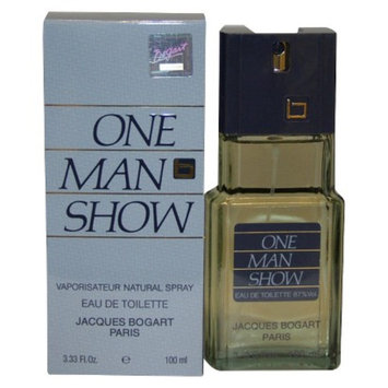 Men's One Man Show by Jacques Bogart Eau de Toilette Spray - 3.3 oz