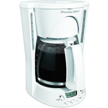 Proctor Silex 48521RY PS - 12 Cup Brew Select Coffeemaker
