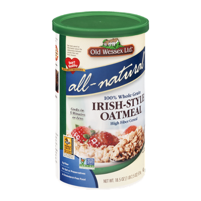 Old Wessex Ltd. All-Natural Irish-Style Oatmeal