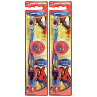 Dr. Fresh Spiderman Barrel Toothbrush Suction Bottom - 3D Sticker - Cap