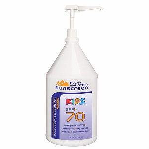 Rocky Mountain Sunscreen Kids Avobenzone Sunscreen SPF 70