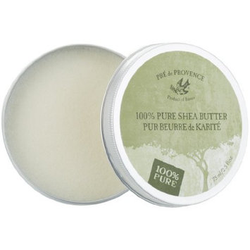 Pre de Provence Enriched, Extra Dry Skin Treatment, Soothing & Moisturizing, 100% Natural Shea Butter,Unscented, 2.5 Ounce Tin
