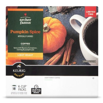 Mother Parkers Tea & Coffee, Inc. Archer Farms Pumpkin Spice Single Cup 18ct