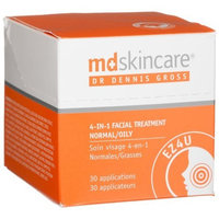 MD Skincare Dr. Dennis Gross Skincare EZ4U 4-In-1 Facial Treatment, 30 Count