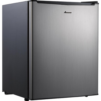 Galanz Enterprises Corporation Of Guang Dogn 2.7 cu. ft. Compact Refrigerator - Faux Stainless