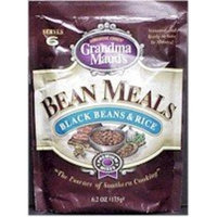 Grandma Maud's Premium Black Beans and Rice Bean Meal, 6.2-Ounce (Pack of 12)
