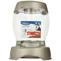 Petmate Pet Café Feeder, 12 pound capacity, Pearl Tan