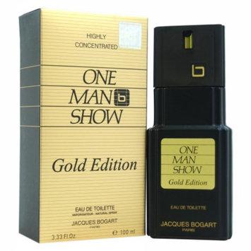 Jacques Bogart One Man Show Eau de Toilette Spray, 3.33 fl oz
