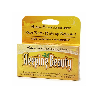 Sleeping Beauty Nature-Based Sleeping Tablets