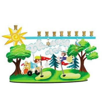 Core Distribution Golf Menorah by Karen Rossi