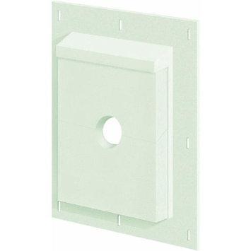 SturdiMount 9.08-in x 11.5-in Trim White Fiber Cement Mounting Block 3SMS68TW
