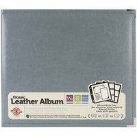 We R Memory Keepers We R Faux Leather 3 Ring Binder - Grey (12