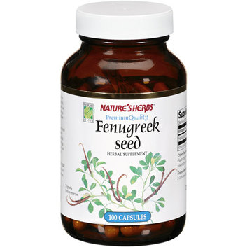 Nature's Herbs Fenugreek Seed Capsules