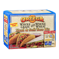 Ortega Hard & Soft Taco Kit - 14 CT