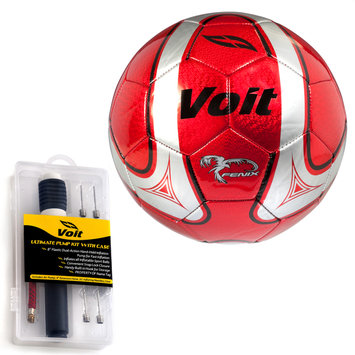 Lion Sports Inc. Fenix Soccer Ball with Ultimate Inflating Kit