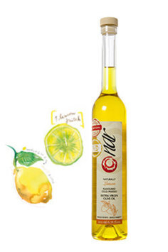 Nar Gourmet - Naturally Lemon Flavored Olive Oil 200ML