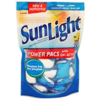 SunLight 20 Count Lemon Scent Power Pacs Case Pack 6
