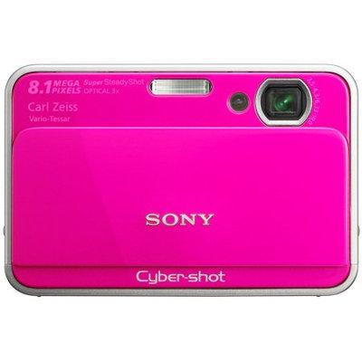 Sony Cyber-Shot Digital Camera 8.1MP 3x Opt 4GB Internal Memory Pink DSC-T2 DSC-T2/P