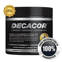 Decacor Creatine - Best Creatine Supplements - Best Creatine Powder that will Enhance Your Muscle Growth, Power and Recovery