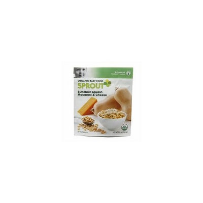 Sprout Organic Foods Sprout Baby Food Advanced Stage 3 Butternut Squash Macaroni & Cheese 5.5oz (5 Pack)