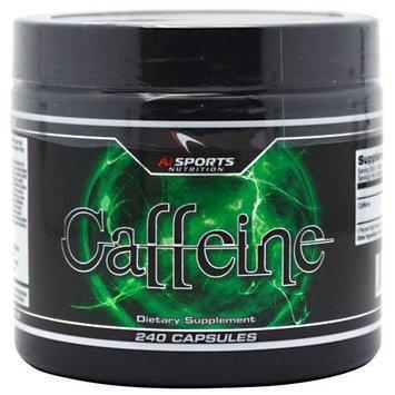 AI Sports Nutrition Caffeine 200 mg (240 Capsules)